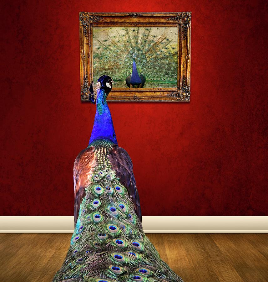 Conceptual Photograph - Self Portrait by Steven  Michael
