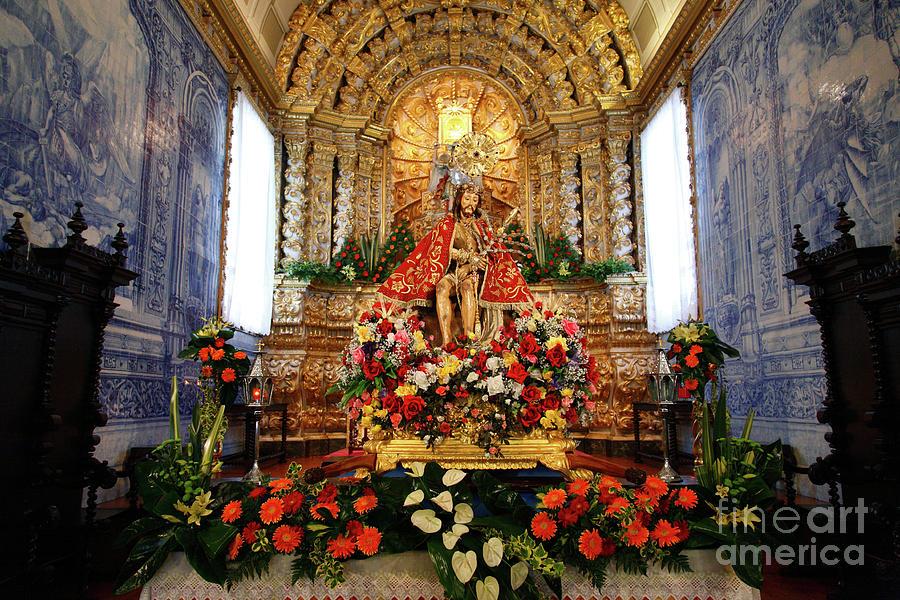 Church Photograph - Senhor Bom Jesus Da Pedra by Gaspar Avila