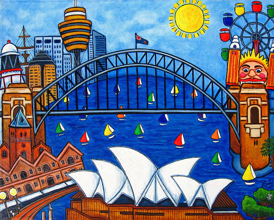 House  Painting - Sensational Sydney by Lisa  Lorenz