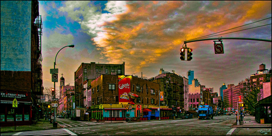 Seventh And Bleeker At Sunrise Nyc Photograph