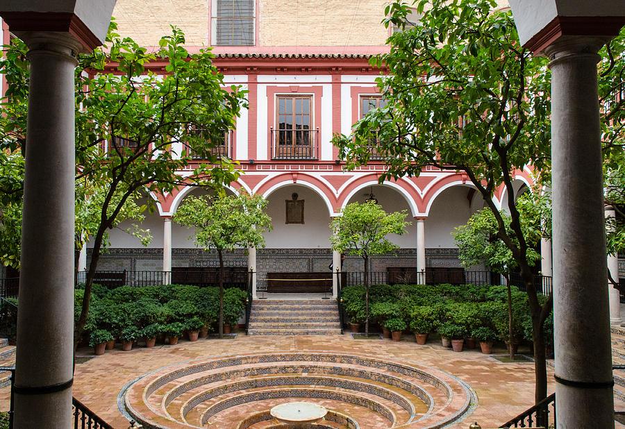 Seville - Hospital De Los Venerables Sacerdotes 10 Photograph by Andrea Mazzo...