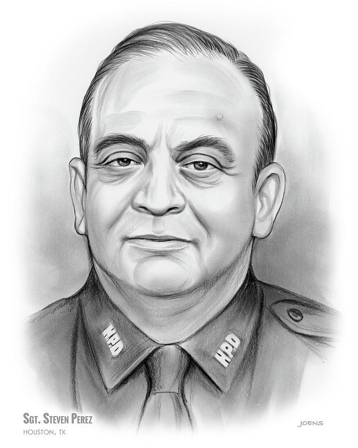 Sgt. Steven Perez Drawing
