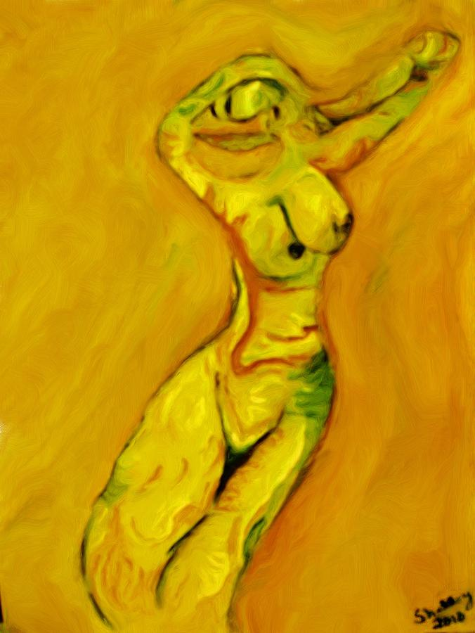 Dance Painting - She Dances by Shelley Bain