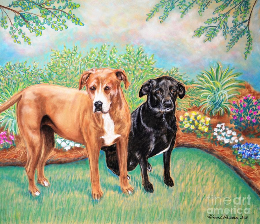 Shelter Painting - Shelter Rescued And Loved by Patricia L Davidson