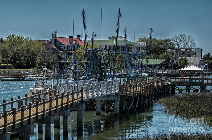 Shem Creek Dock Photograph