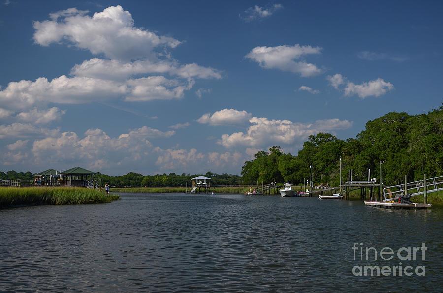 Shem Creek Island Life Photograph
