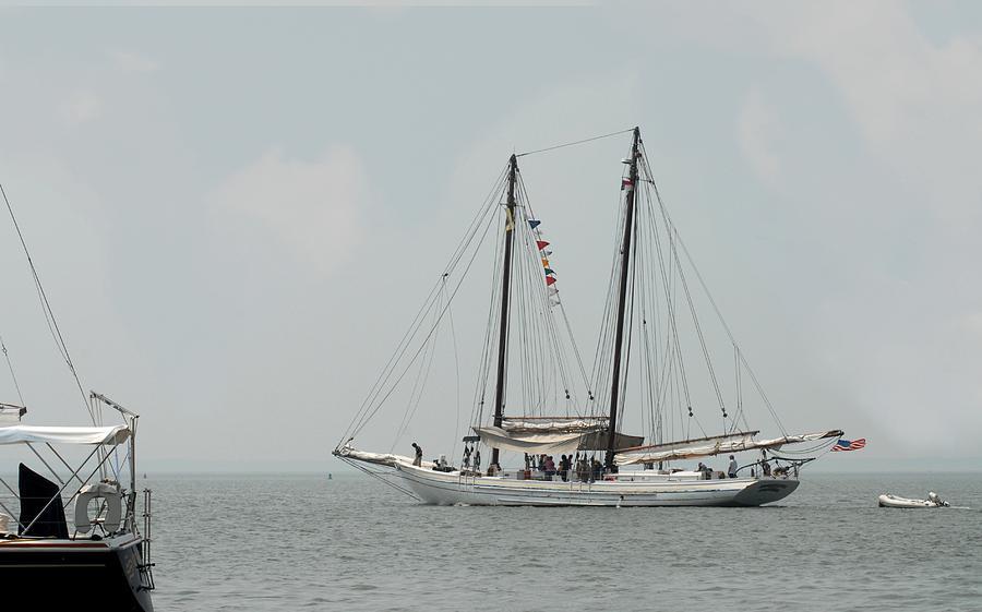 Sailing Ship Photograph - Ship 23 by Joyce StJames