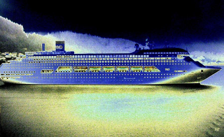 Ketchikan Digital Art - Shipshape 7 by Will Borden