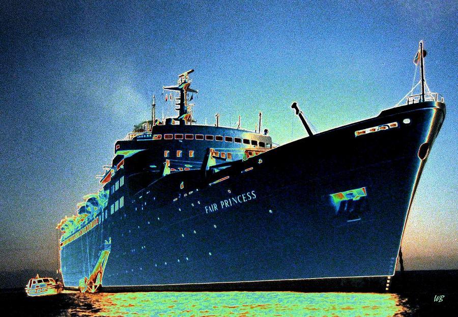Puerto Vallarta Digital Art - Shipshape 9 by Will Borden