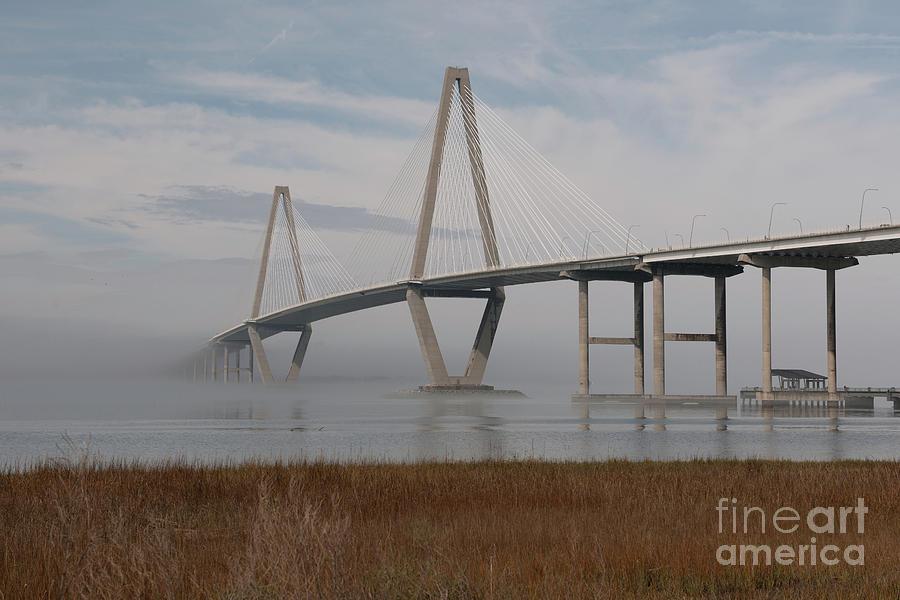 Shore Line Fog Photograph