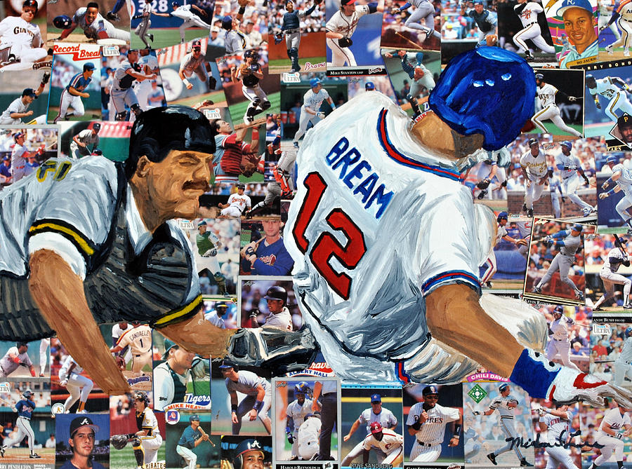 Sid Bream Slide Painting