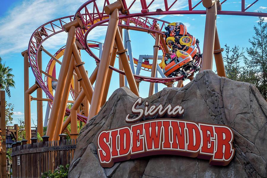 Sierra Sidewinder At Knott's Berry Farm Photograph by ...