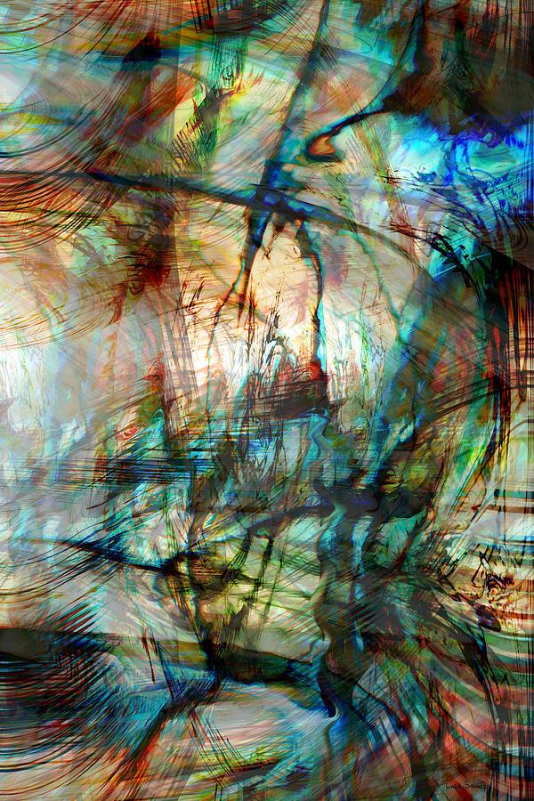 Silent Warrior Digital Art - Silent Warrior by Linda Sannuti