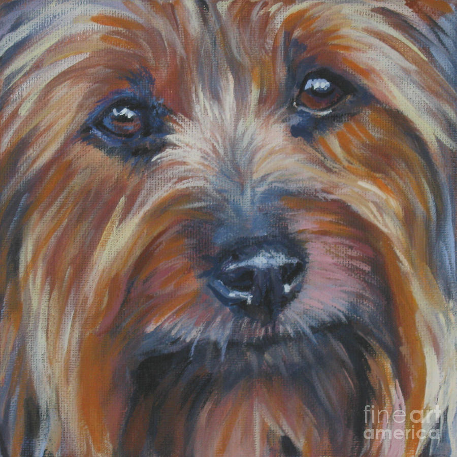Silky Terrier Painting - Silky Terrier by Lee Ann Shepard