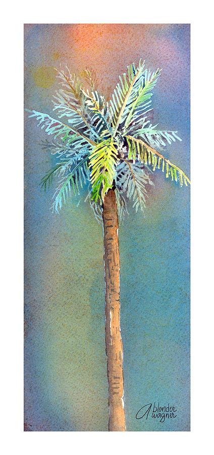 Simple Palm Tree Painting