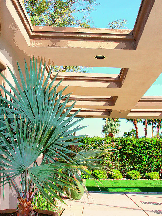 Sinatra Patio Palm Springs Photograph