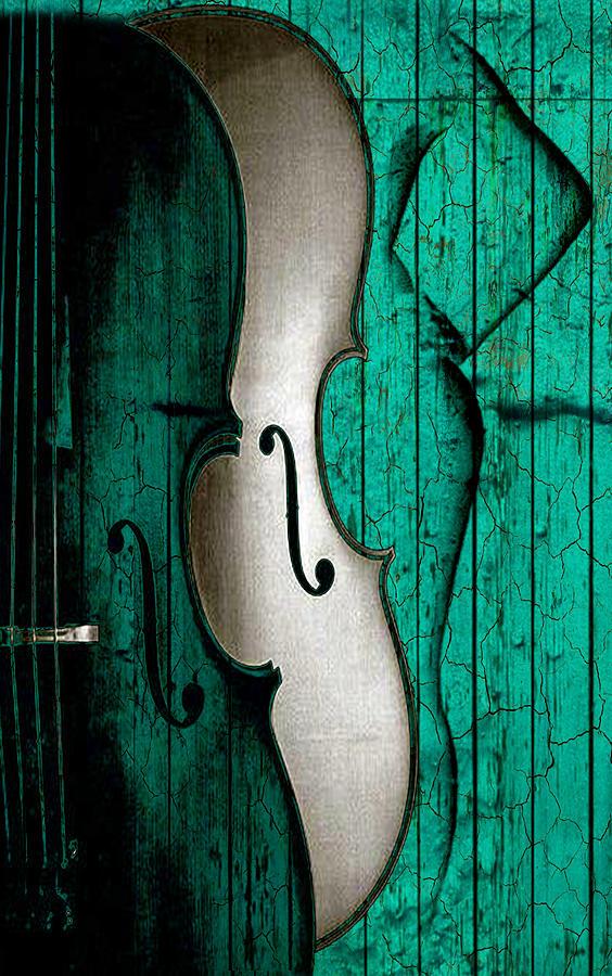 Sinful Violin Digital Art