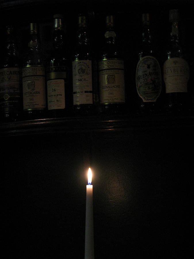 Sipping By Candlelight Photograph