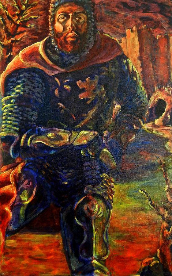 Creature Painting - Sir Gaiwan by David Matthews