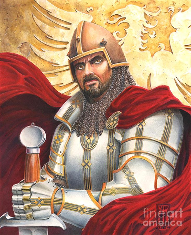 Sir Gawain Drawing