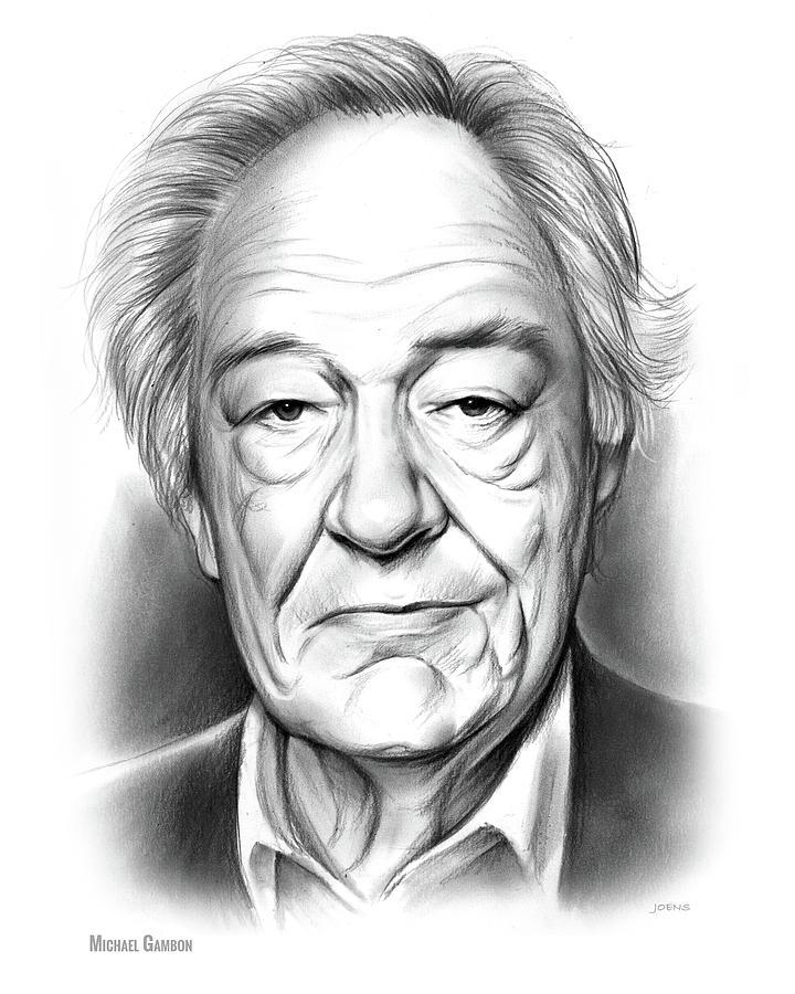 Sir Michael Gambon Drawing