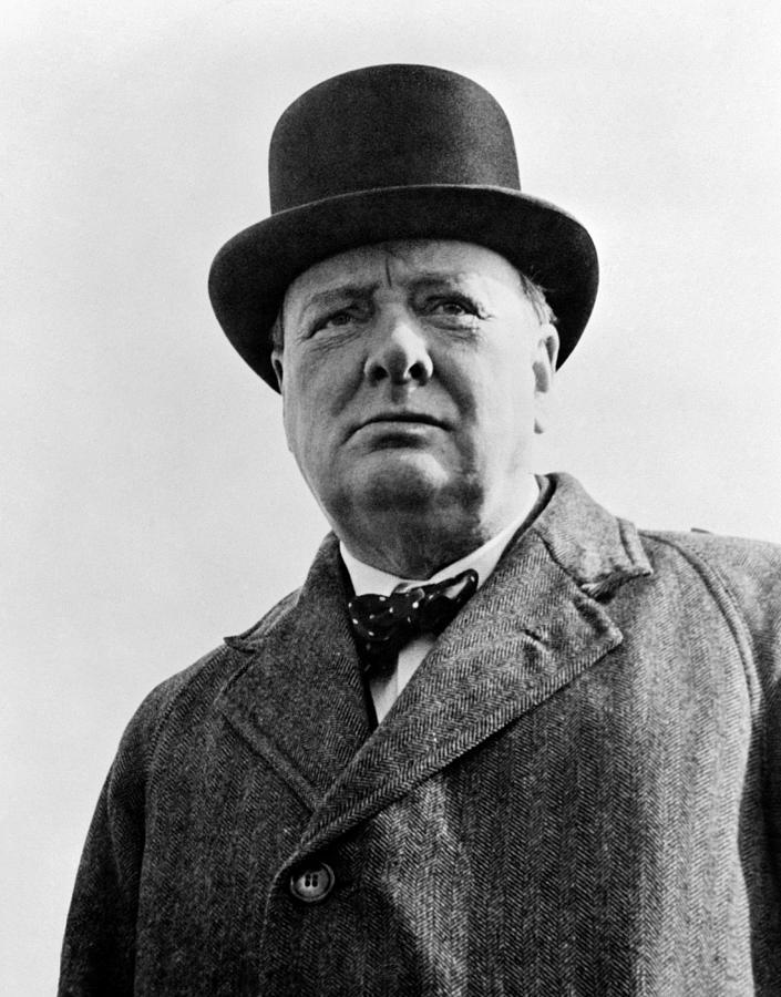 Sir Winston Churchill Photograph