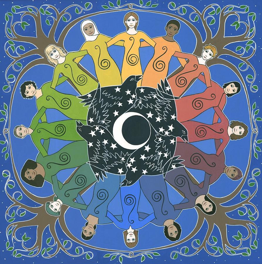 Sister Circle Painting