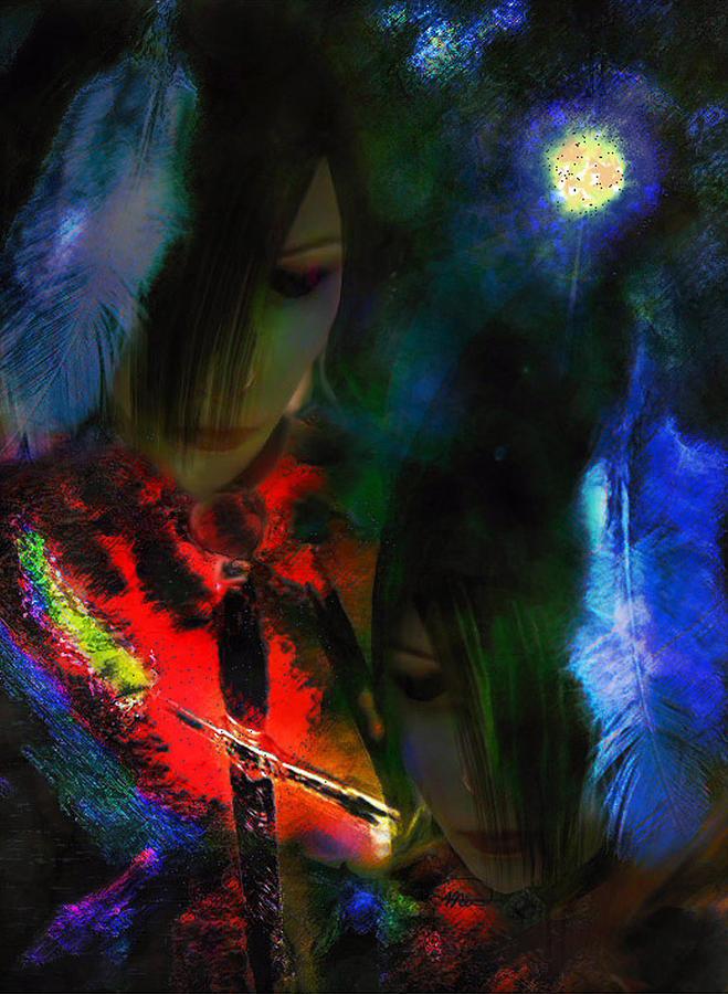 Digital Art Digital Art - Sister Honoured by Michelle Dick