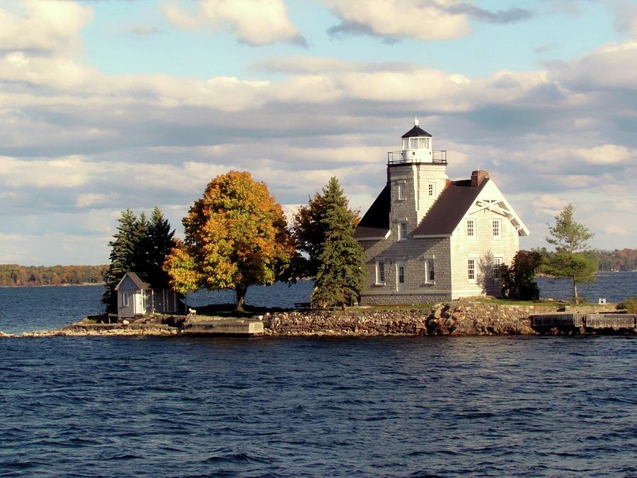 Sister Island Lighthouse Photograph