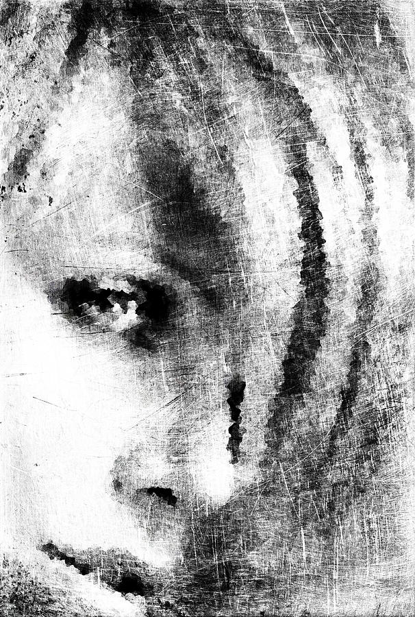 Sketch Digital Art - Sketched Charlize by Andrea Barbieri