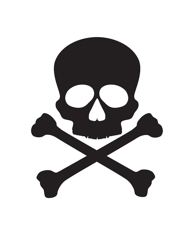 Skull With Crossbones Illustration Photograph By Jit Lim
