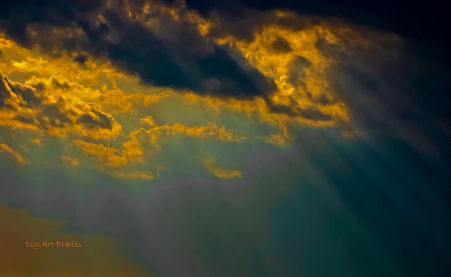 Sky Photograph - Sky Effects by DigiArt Diaries by Vicky B Fuller