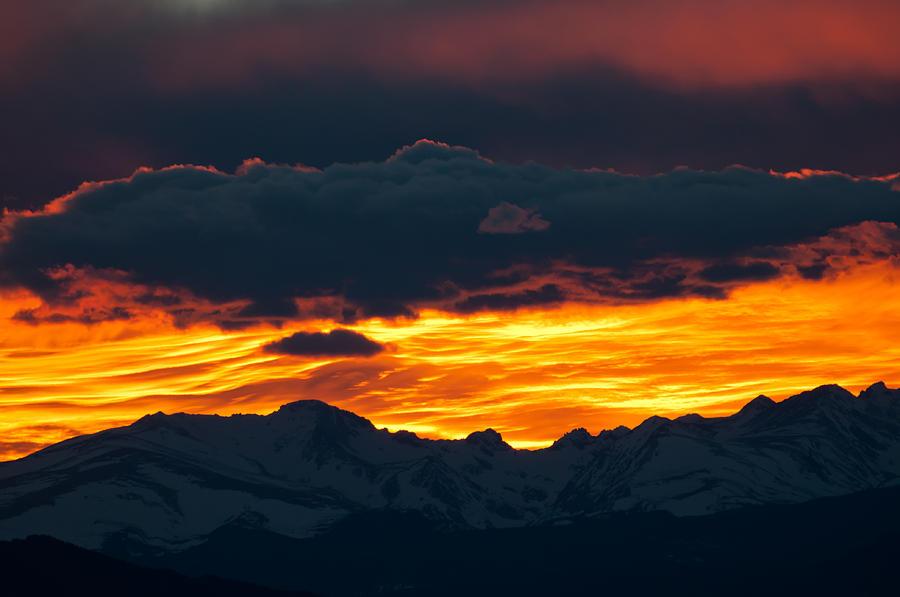 Sky Lava Photograph