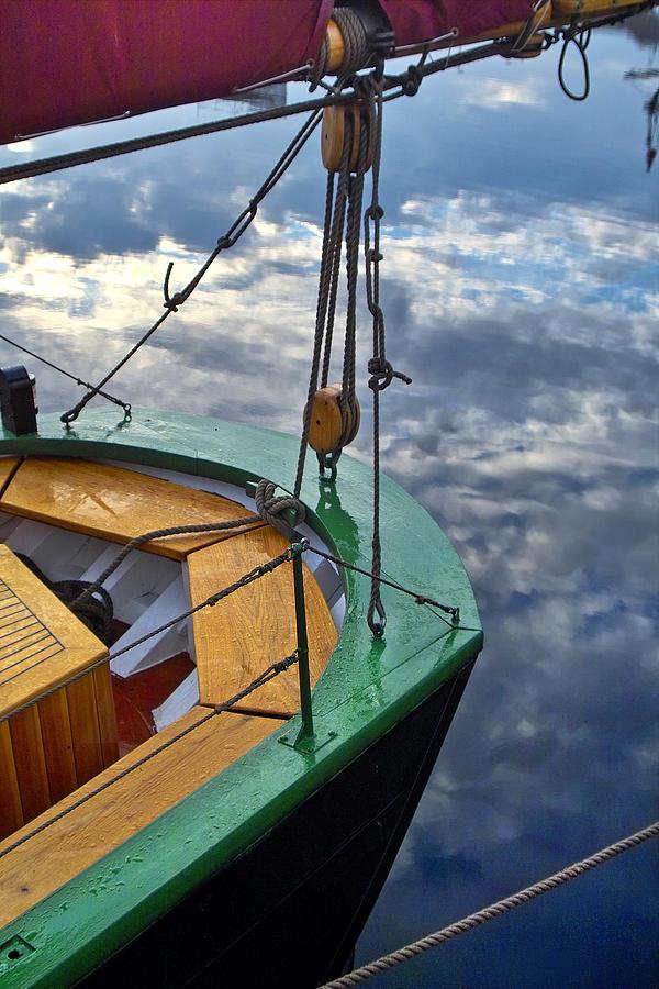 Sail Boat Photograph - Sky Sailing by Robert Lacy
