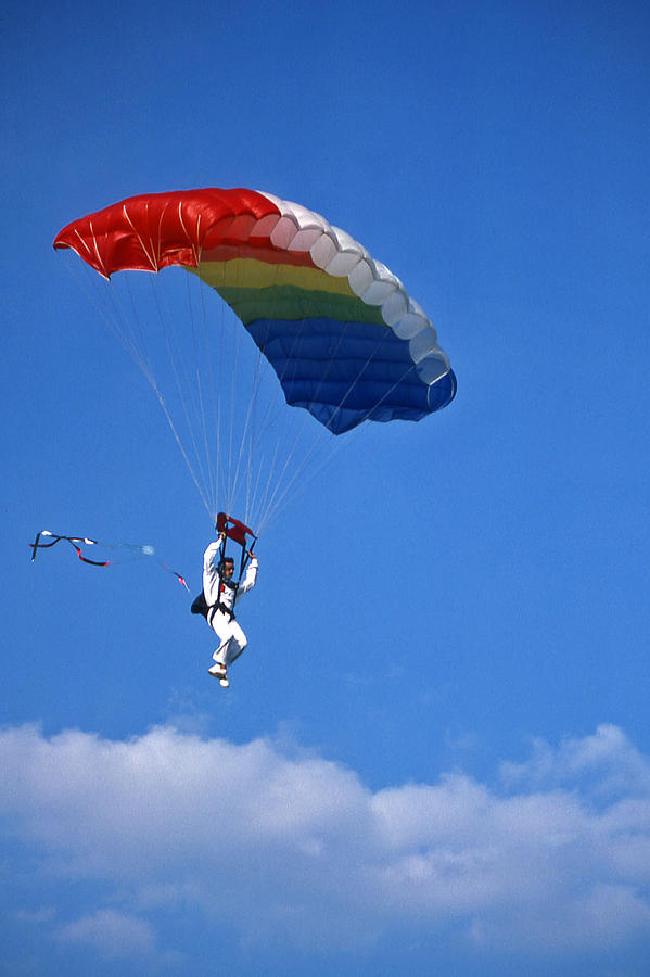 Tennessee Photograph - Skydiving - 1 by Randy Muir