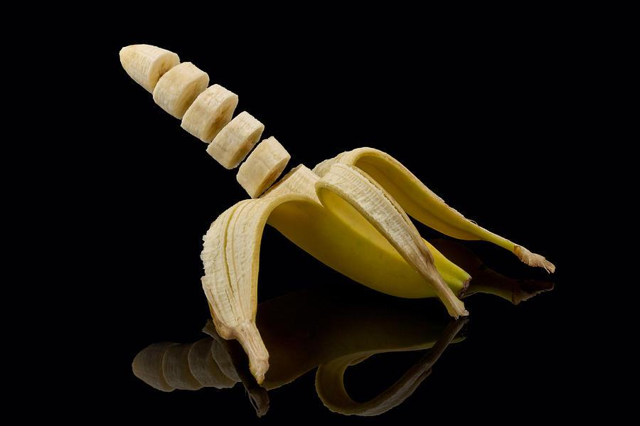 Sliced Banana Photograph