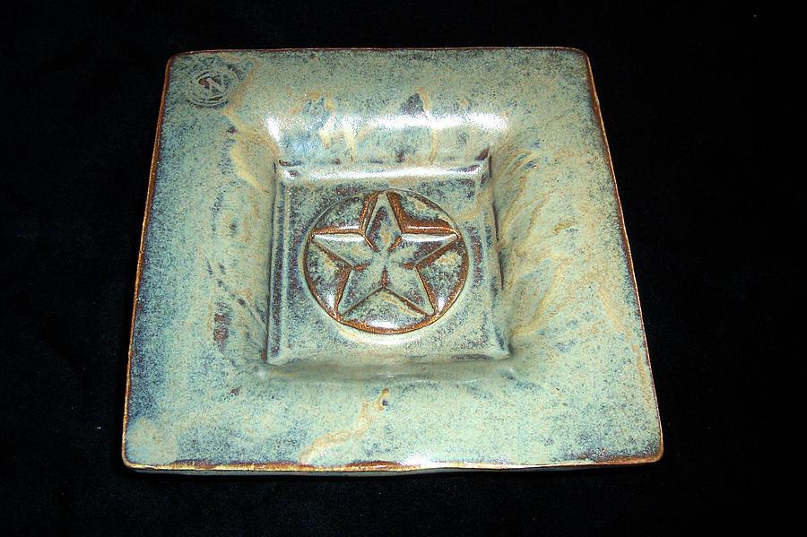 Small Star Dish Ceramic Art
