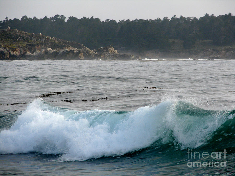 Small Wave On Carmel Bay Photograph