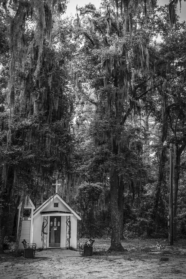 Smallest Church In America Darien Georgia Photograph