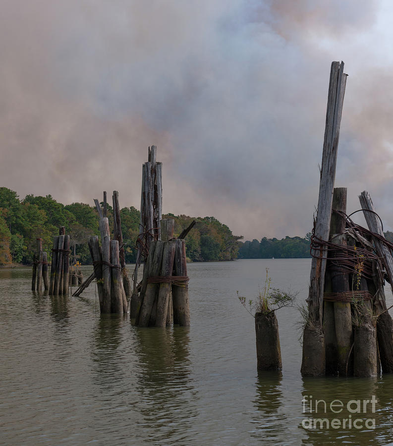 Smoke Billowing IIi Photograph