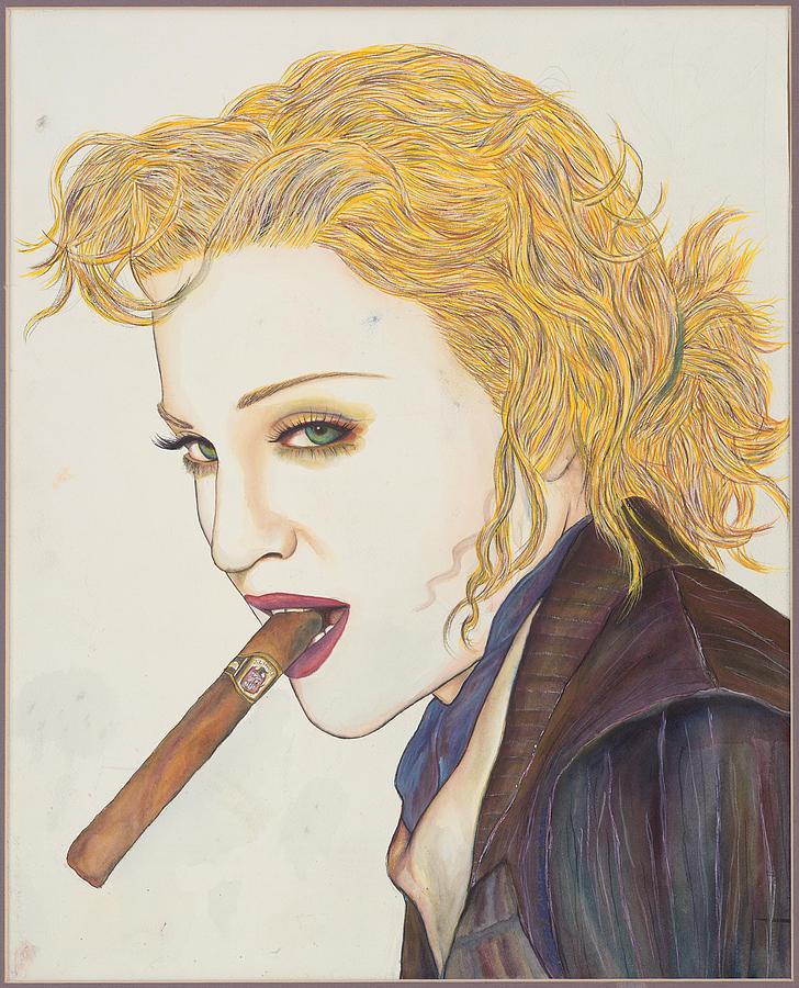 Madonna Mixed Media - Smoke Signals by Joseph Lawrence Vasile
