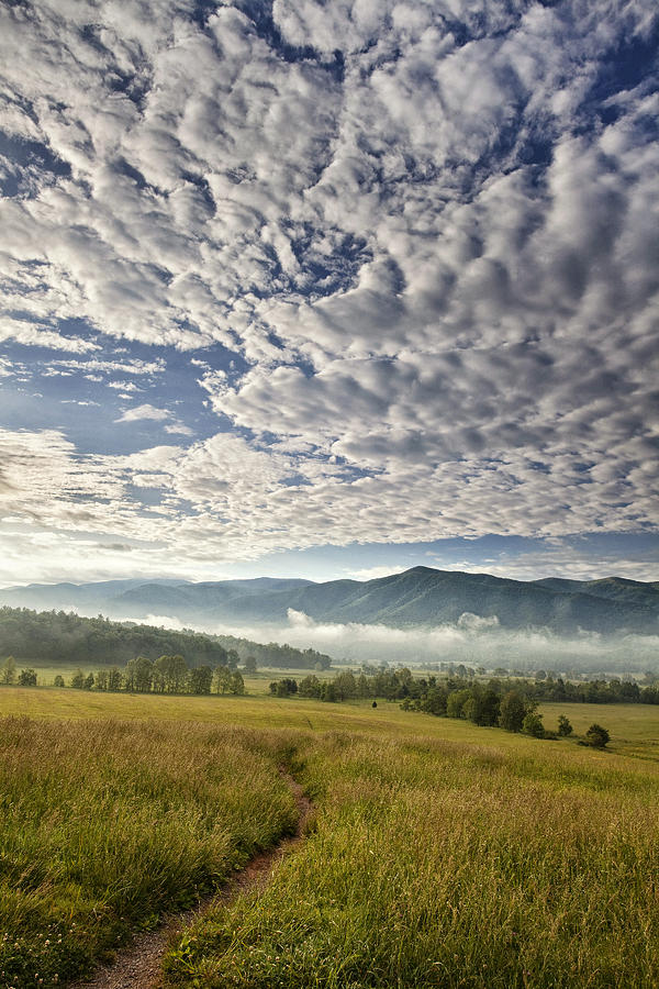 Smokies Cloudscape Photograph
