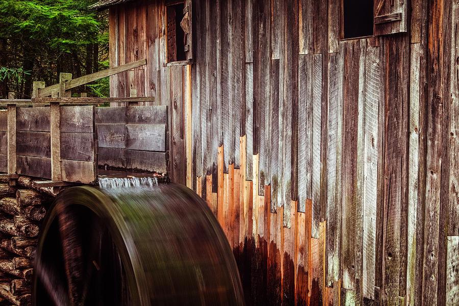Mill Photograph - Smokies Mill by Andrew Soundarajan