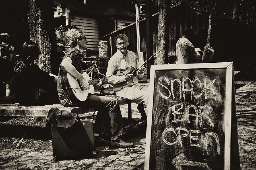 Philadelphia Photograph - Snack Bar Open by Bill Cannon