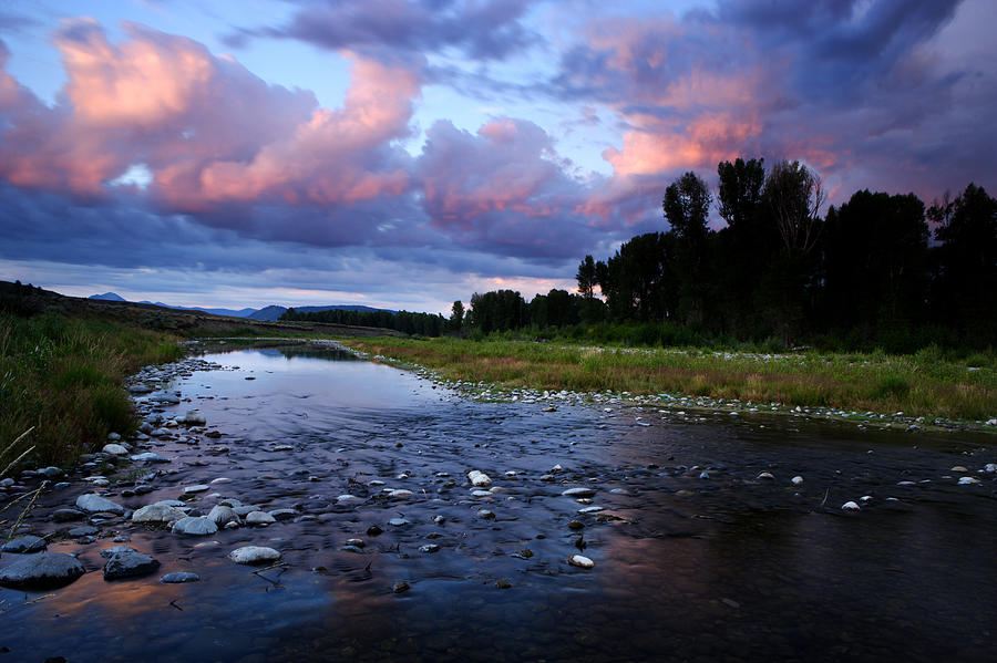 Wyoming Photograph - Snake River by Eric Foltz