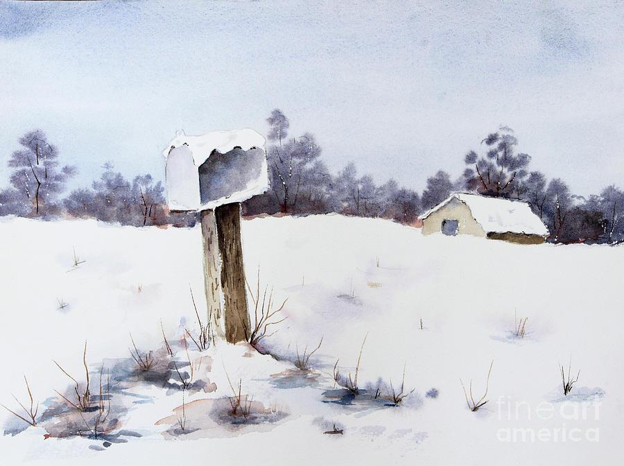 Snowy Mailbox stock photos - FreeImages.com