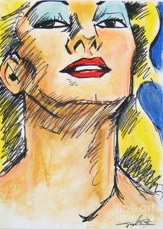 Portrait Pastel - So Chic by Joseph Palotas