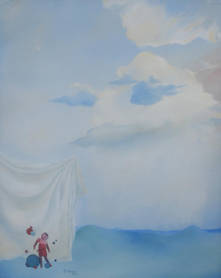 Landscape Painting - Soft Light by Richard    J Thorpe