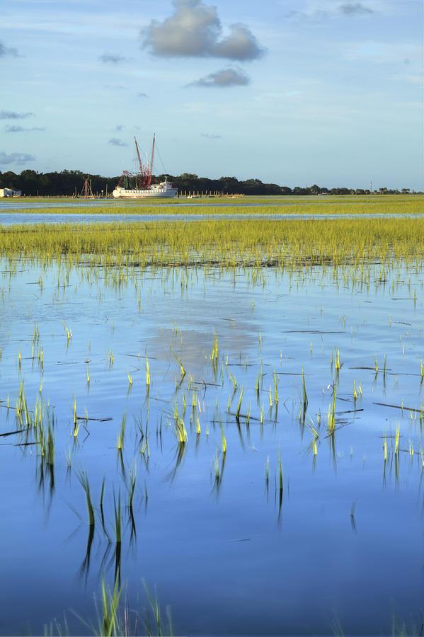Sol Legare Shrimp Boat Photograph