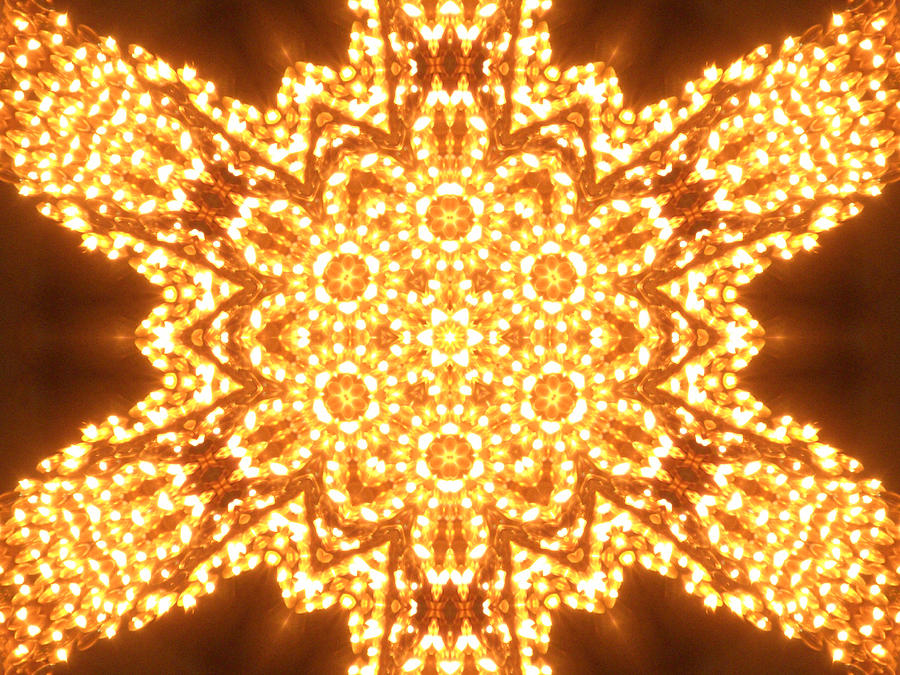 Candle Digital Art - Solar Telepathy by Filip Klein